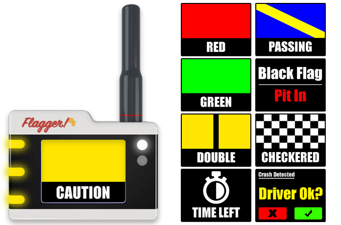 Flagger - Digital In Car Flagging System